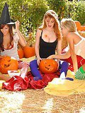 Check out this hot amazing halloween special lesbian fuck fest of hot wet pussy starring aprill nikki and sammie in these hay fucking licking pics and big video
