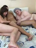 Crazy orgie with grandma