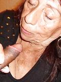 Latinagranny horny granny blowjob